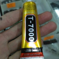 Lem Ts / Touchscreen T7000 ukuran 15ML isi warna hitam