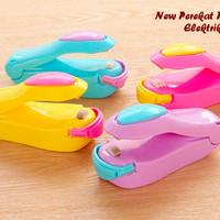 Mini Hand Plastic Sealer Pengemas Segel Penyegel Perekat Plastik Press