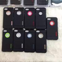 Case iPhone 7/7 Plus +/6/6s/5/5s Slim Carbon 2 Casing Black [Premium!]