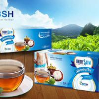 PROMO BSH TEA / BODY SLIM HERBAL TEA + EXTRACT MANGGIS LARIS