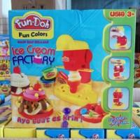 mainan anak pasir fun doh play doh ice cream edukasi edukatif