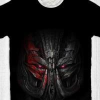 Baju Kaos Anak & Dewasa Transformers - Megatron Head