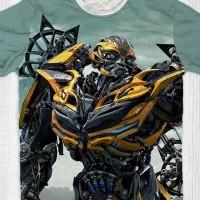 Baju Kaos Anak & Dewasa Transformers - Bumblebee Sight