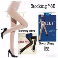 STOCKING TALLY SLIMMING EFFECT [ KODE 785 ] SHAPE FIT