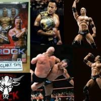 SHF The Rock WWE WWF Smackdown Smack Down RAW Mattel Elite Size Bandai