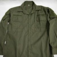 kemeja tactical/helicon hijau od/hijau brimob/pol pp lengan panjang