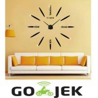 Jam Dinding Besar Raksasa Giant Wall Clock 80-130cm Diameter ELET00661