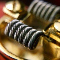 Fused Clapton Coil Vapor (Best Quality Use Kanthal A1 VAPOWIRE USA)