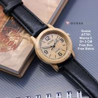 [BEST PRODUCT] Jam Tangan Wanita / jam tangan Murah Guess Able Black C