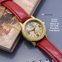 [BEST PRODUCT] Jam Tangan Wanita / jam tangan Murah Guess Able Red Col