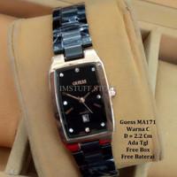 [BEST PRODUCT] Jam Tangan wanita / jam tangan Murah Guess Mini Black R