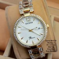 [BEST PRODUCT] Jam Tangan Wanita / Jam tangan Murah Guess Crisena Gold