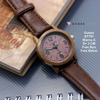 [BEST PRODUCT] Jam Tangan Wanita / jam tangan Murah Guess Able Dark Br