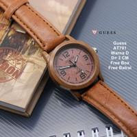 [BEST PRODUCT] Jam Tangan Wanita / jam tangan Murah Guess Able Brown C