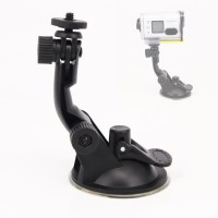 Car Suction Cup Mount Holder for GoPro Xiaomi Yi Action Camera murah