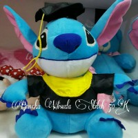 Boneka Graduation Stitch/ Boneka Wisuda/ Boneka Stitch by ESSLSHOP2
