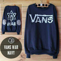 Jc- jaket sweater vans war navy