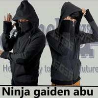 Jc- jaket ninja gaiden abu tua