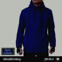 Jc- jaket harakiri biru navy
