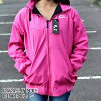 Jc- jaket parasut nike pink