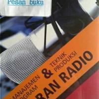 Buku Manajemen Program & Teknik Produksi Siaran Radio