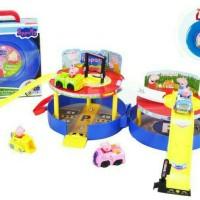 Mainan Anak Peppa Pig Parking LOT XZ 376
