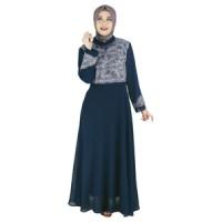 Baju Gamis Wanita Tanpa Kerudung Raindoz RLN 079
