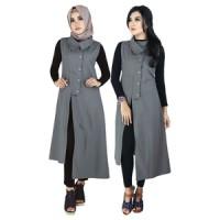 Dress Gamis Wanita Tanpa Kerudung Raindoz RKO 021
