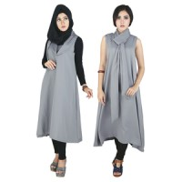 Dress Muslim Wanita Tanpa Kerudung Raindoz RRY 003