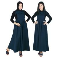 Dress Gamis Wanita Tanpa Kerudung Raindoz RWH 006