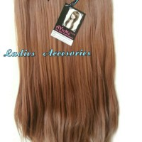 PROMO Hairclip Big Layer Blonde Curly and Straight