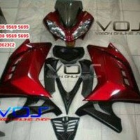 FULL FAIRING MODEL NINJA 250 F1 BAHAN PLASTIK ABS v1