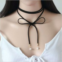 Kalung Cantik & Manis Choker A37 Pearl Gothic Tatto Collar Necklace