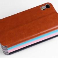 Lenovo Vibe Shot Z90-7 Leather Flip Case Mofi Rui Series dompet kulit