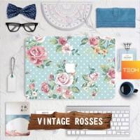 Vintage Rosses - Premium MacBook Skin Decal Cover Sticker