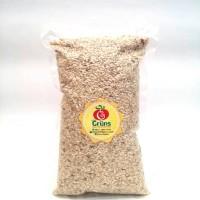 GROW GRUNS - BERAS COKLAT ORGANIK / ORGANIC BROWN RICE ( 1 KG )