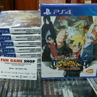 Ps4 Naruto Shippuden Ultimate Ninja 4 Road to Boruto New