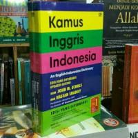 Buku Kamus Bahasa Inggris Indonesia - John M Echols