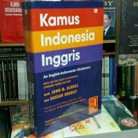 Buku Kamus Bahasa Indonesia Inggris - John M. Echols