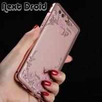 Casing Bunga Metal Xiaomi Redmi 3 Pro 3s / Hard Case Bumper Flowers