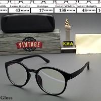 Frame kacamata minus korea Kacamata korea frame bulat vintage