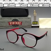 Frame kacamata minus elastisLensa kacamata Frame vintage bulat