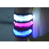 Lampu Malam LED / LED Warning Strap Arm Band - Green