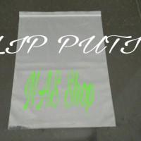 Plastik Klip Uk.30X40 / Plastik Ziplock Besar/Jumbo