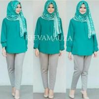Baju blouse tunik wanita muslim