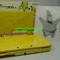 CFW 64GB Permanen TANPA Solder, New 3DS XL Pikachu Limited Edition
