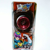 YOYO Auldey Blazing Teens Black Sword LV3 Metal Murah
