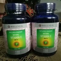 Wellness Natural Vitamin E 400IU - 150 Caps