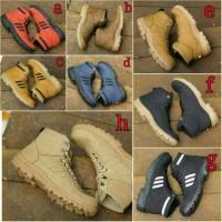 Sepatu Boot Adidas Safety Ujung Besi