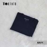 Kaos Polos Worth ID / Kaos Cowo - Cewe / Bahan Cotton Combed 30s